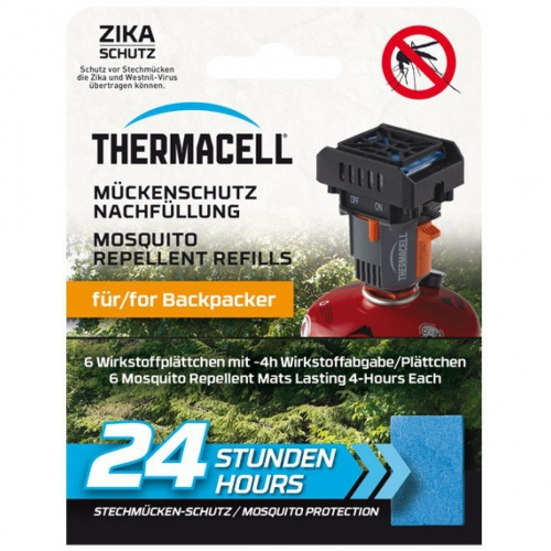 ThermaCell Paket NEU Backpacker SET inkl. Nachfüllpack BP-24 (24h)