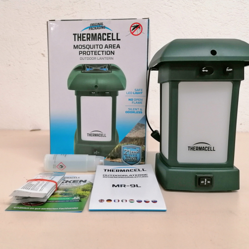 ThermaCell Mückenschutz Camping-Laterne MR-9L